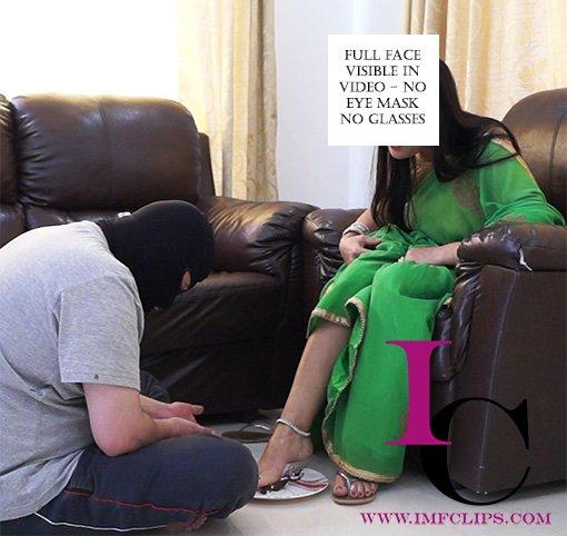 feet feeding femdom