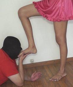 Feet Licker Slave Training